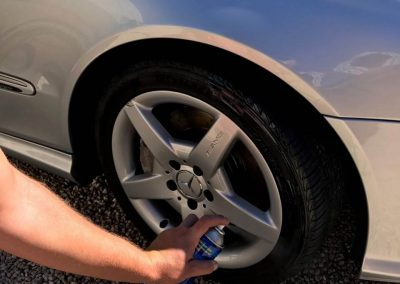 Detailing Adelaide always applies tyre black to all tyres making them look brand new