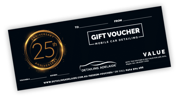 Anniversary Gift Card by Detailing Adelaide