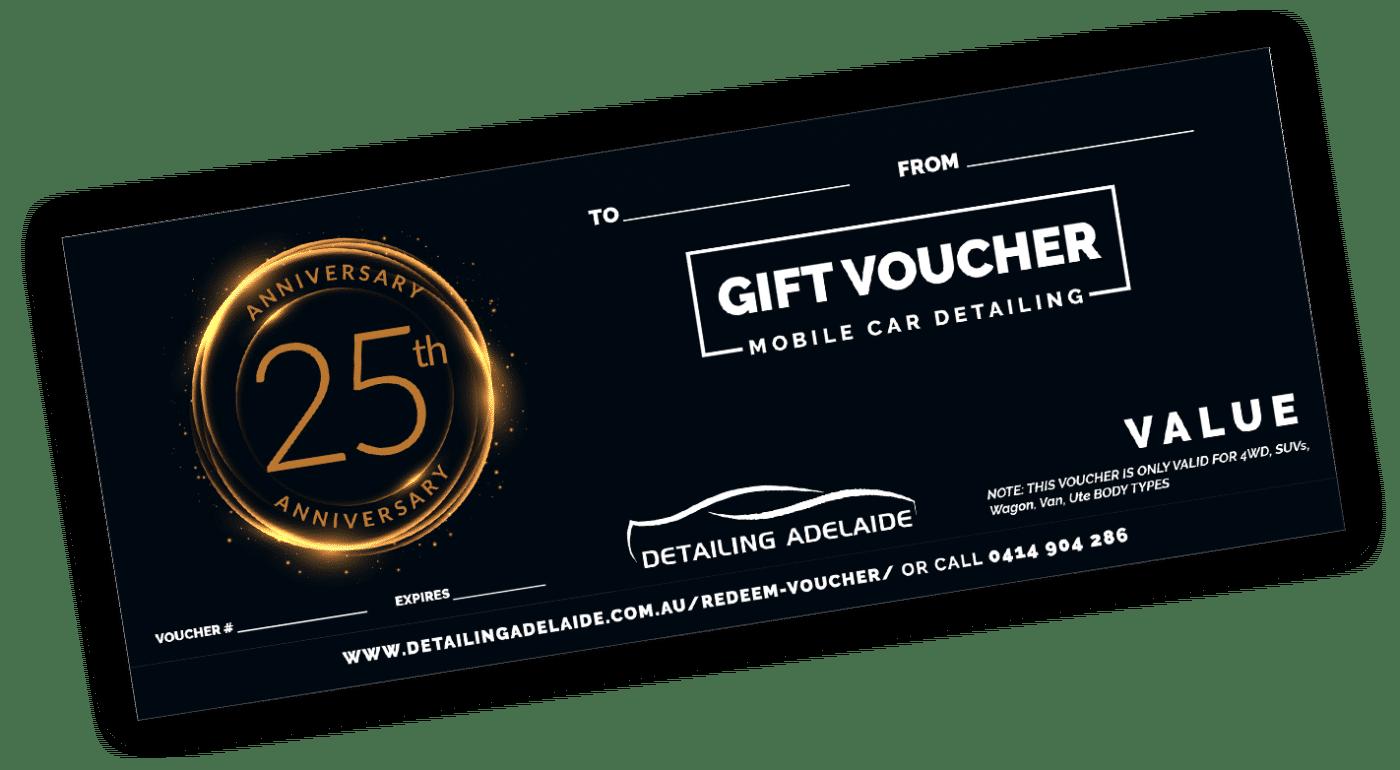 Anniversary Gift Voucher