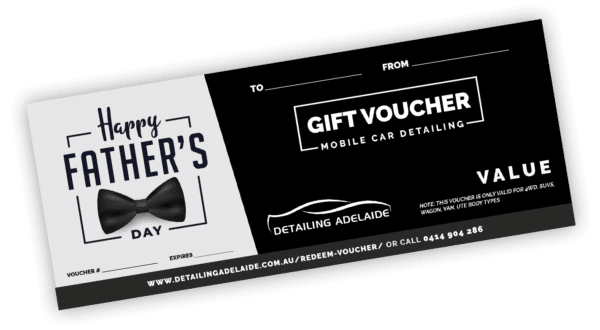 Father's Day Gift Card by Detailing Adelaide
