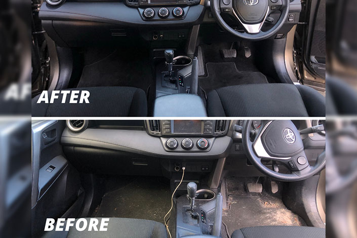 seat and carpet clean